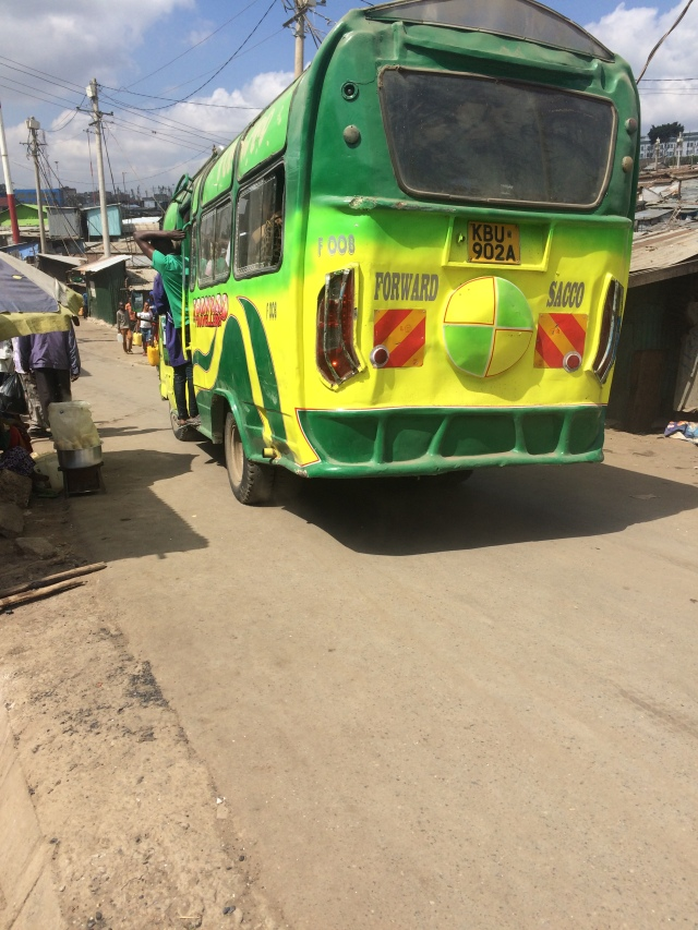Foward travellers Matatu chooses alternative route